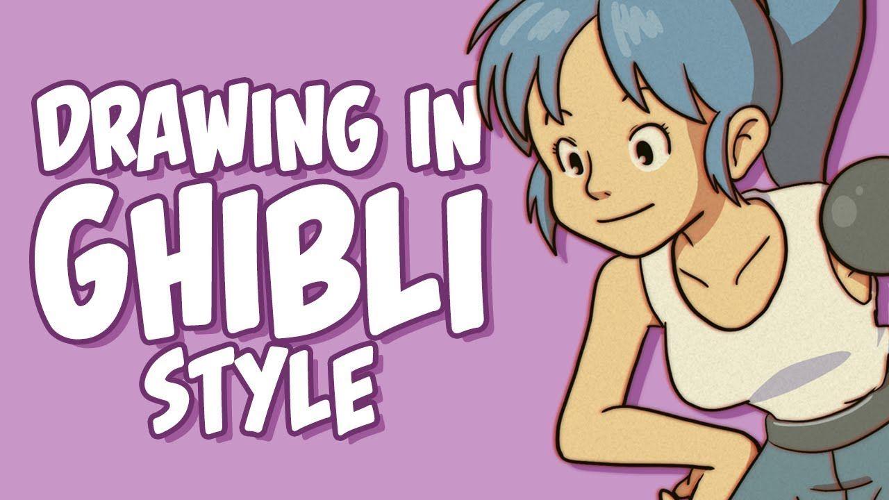 Drawing In Studio Ghibli Style Studio Ghibli Ghibli Museum Ghibli Art
