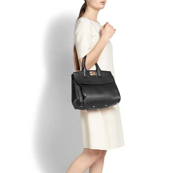 740762f610c5 Ferragamo Studio Bag - Top handles   Satchels - Women - Salvatore Ferragamo