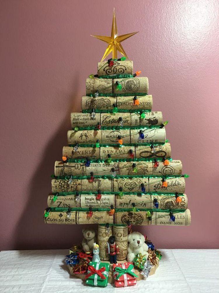 Mini Wine Cork Diy Ideas To Christmas