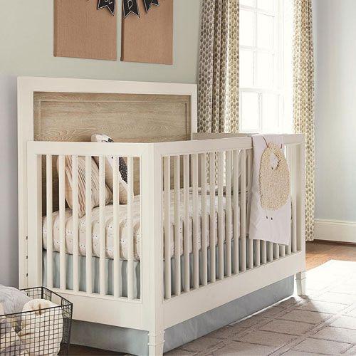 Marsonne Convertible Crib from PoshTots Buy with Crib mattress ...