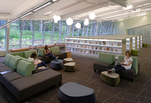 Federal Way Library A Gem For Residents At Village Green