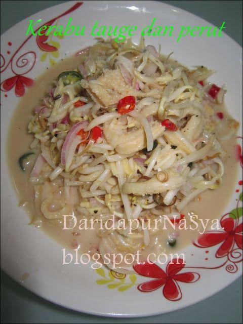 Kerabu Tauge Dan Perut Love Eat Asian Kitchen Eat