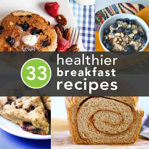 33 Healthier Breakfast Alternatives