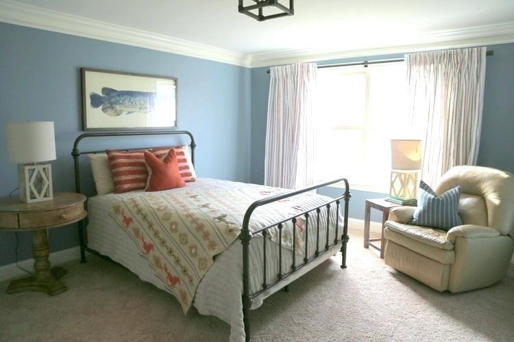 Van Courtland Blue Bedroom An Evergreen Boys Design The Benjamin Moore