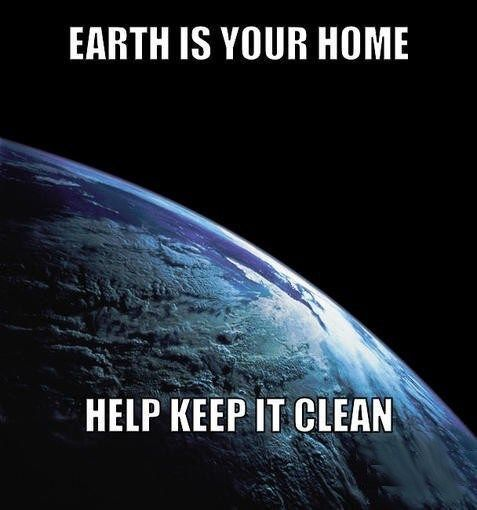 Earth is your home