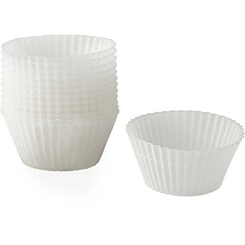 Wilton 4152452 12 Piece Clear Silicone Baking Cup Set Want To