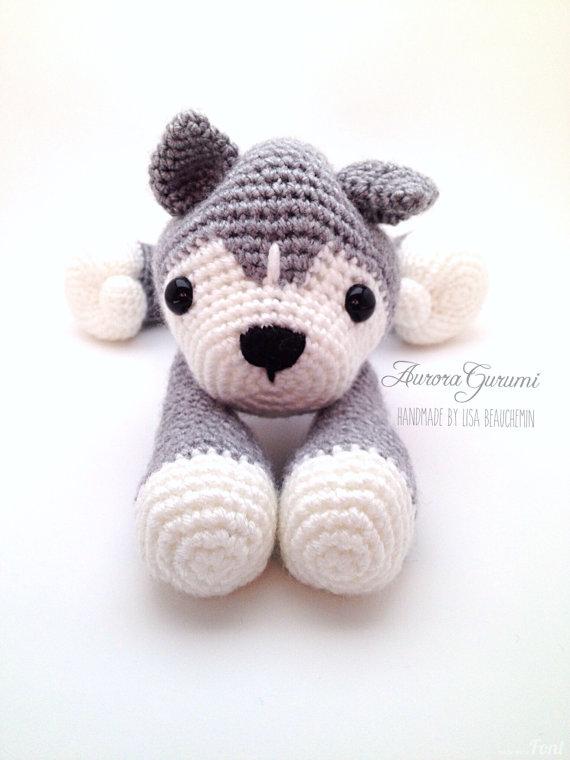 Crochet pdf pattern nanook husky | Amigurumi- muñecos tejidos II ...