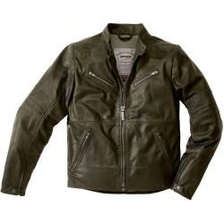 Photo of Spidi Garage motorcycle leather jacket gray 54 Spidi
