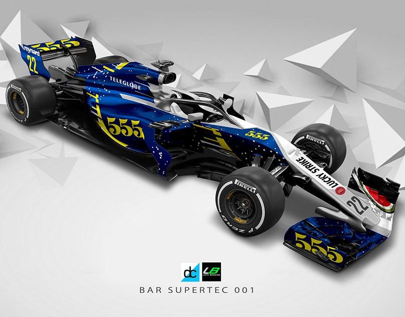 F1 2019 Season Concept Liveries On Behance Racing Racing Posters Formula 1 Car