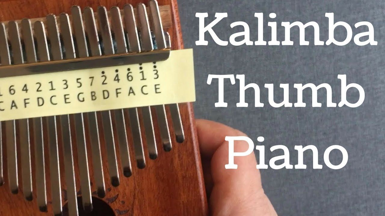 17 Key Kalimba Thumb Piano Solid Finger Piano Mahogany