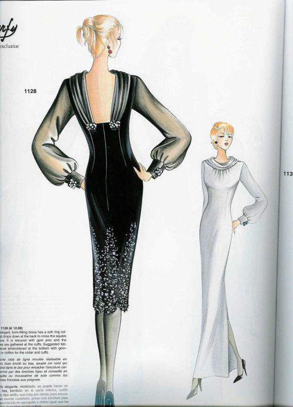 marfy - Google zoeken | Illustrazioni moda | Pinterest