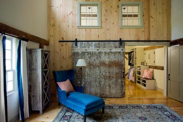 The Stanwood Estate Barn - farmhouse - Closet - Boston - Cummings Architects