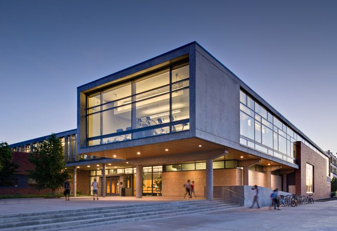 Boise state university rec center by yost grube hall for Boise residential architects