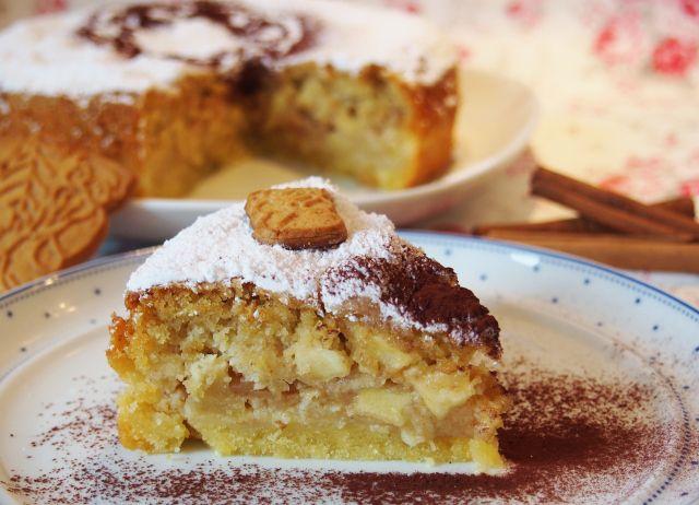 Mein allerliebster oder sogar weltbester? Spekulatius-Apfelkuchen #veganermaulwurfkuchen