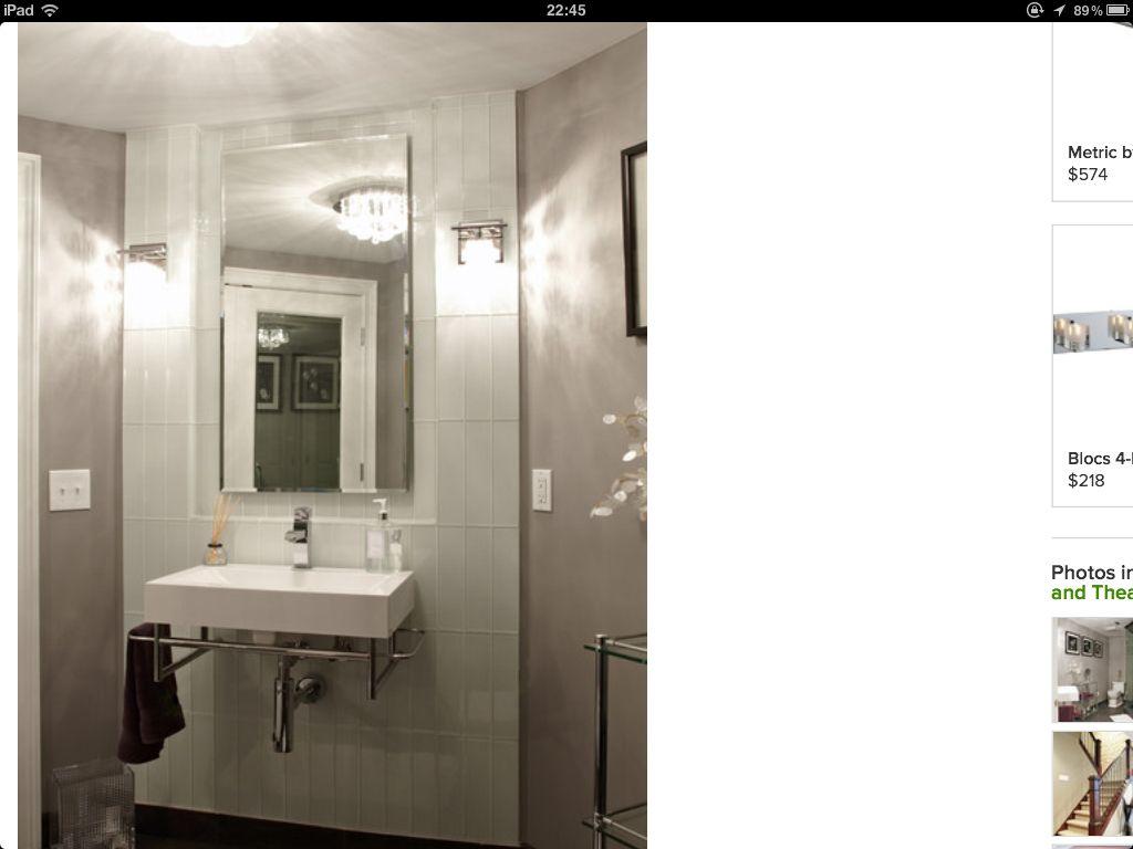 WHITE GLASS LOOK TILES http://www.houzz.com/photos/327024/M-J ...