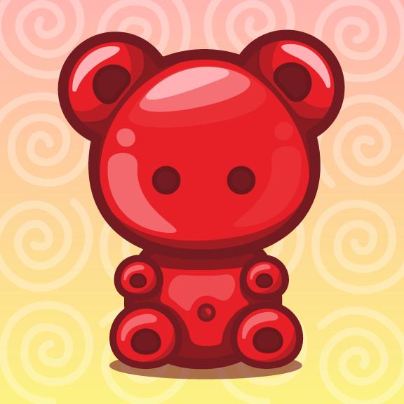 Gummy Bear Bear Drawing Bear Art Gummy Bears