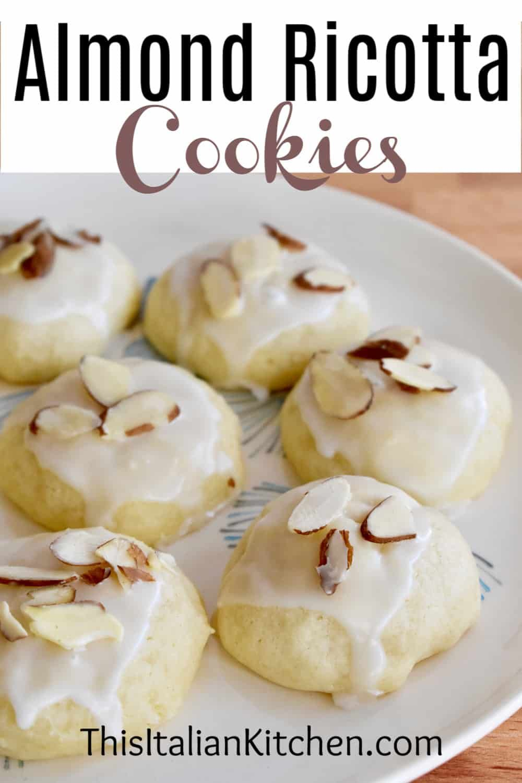 Photo of Italian Almond Ricotta Cookies   BEST Soft Almond Cookies EVER! – This Italian Kitchen
