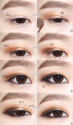Korean Makeup Tutorials On Pinterest Korean Makeup Asian Makeup