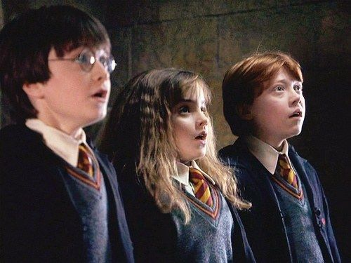 Image Result For Harry Ron Hermione Film Harry Potter Cast Harry Potter Harry Potter