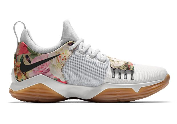wholesale dealer 1dea8 4a296 Nike PG1 Floral NIKEiD   SneakerNews.com