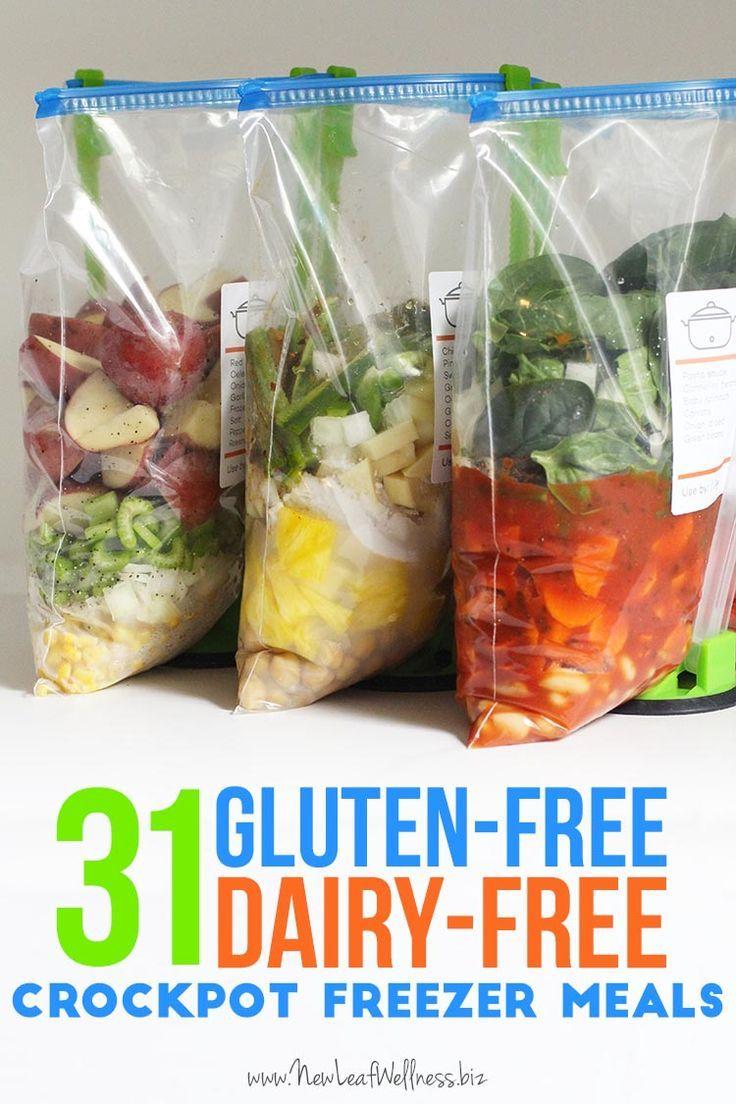 31 Gluten Free Dairy Free Crockpot Freezer Meals Foods