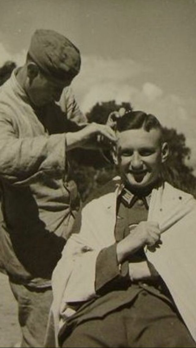 Wehrmacht Haircut 9 Wwii Thanks Grandpa I Miss You Pinterest