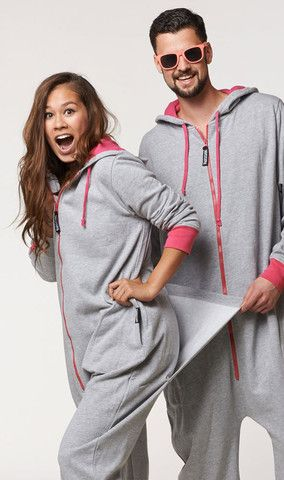 Thuggies Funzie Onesie for him and her. Super soft custom milled cotton  onezie with a butt flap. T-Cozy Funzie Onesie Couple Pajamas 0d51c5f76