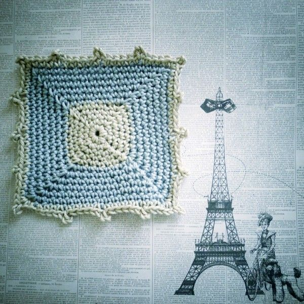 Single Crochet Square Pattern By Pigtails Crochet Blocks And
