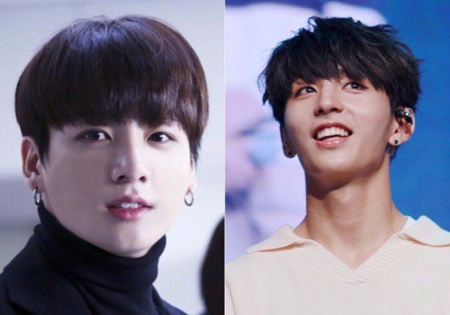 Rookie Idol Y From Golden Child Grabs Attention As Bts Jungkook S Look Alike Golden Child Look Alike Woollim Entertainment