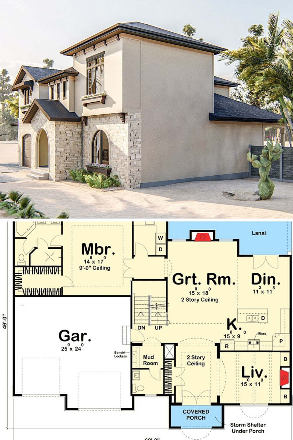 4 Bedroom Two Story Adobe Home Floor Plan Adobe House Tuscan House Plans Mansion Floor Plan