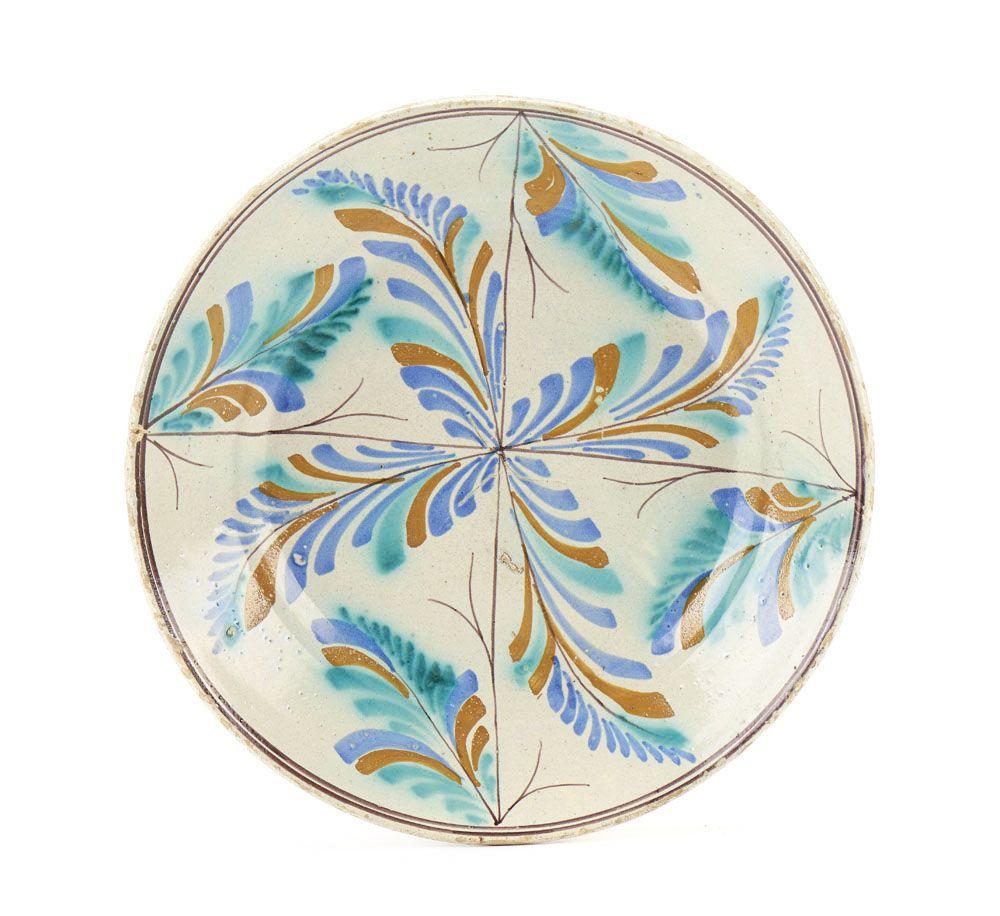 Prato em faiana portuguesa fabrico de coimbra dito ratinho porcelain dailygadgetfo Gallery