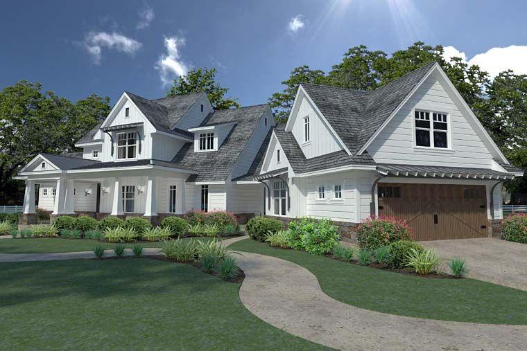 Southern Style House Plan 75148 With 3 Bed 3 Bath 2 Car Garage