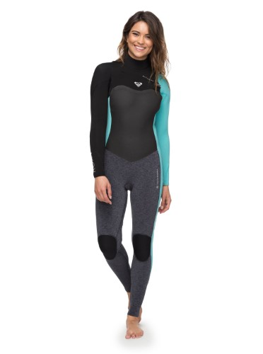 5eff3636c8d Roxy Womens 3 2mm Performance Chest Zip Chest Zip Wetsuit