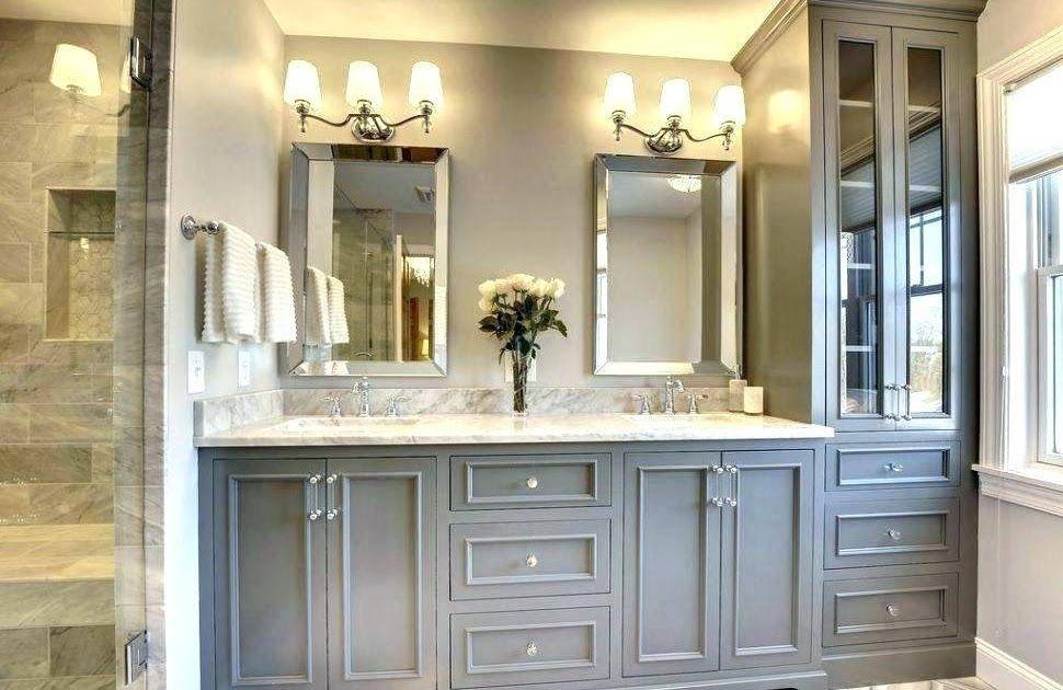 Bathroom Mirror Ideas For Double Sinks Sink Bathrooms Ideas For Small Master Bathroom Remode Bathroom Remodel Master Master Bath Vanity Master Bathroom Vanity