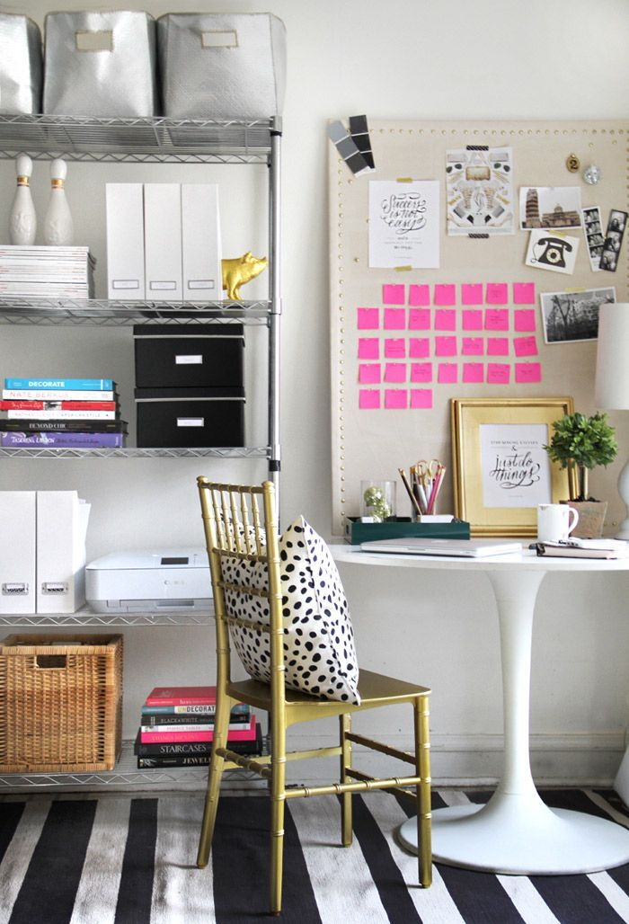 Decorating Your Home Office On A Budget The Budget Diet Home