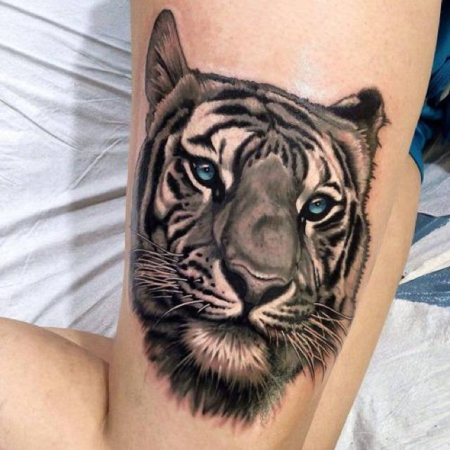 Tiger tattoo 12
