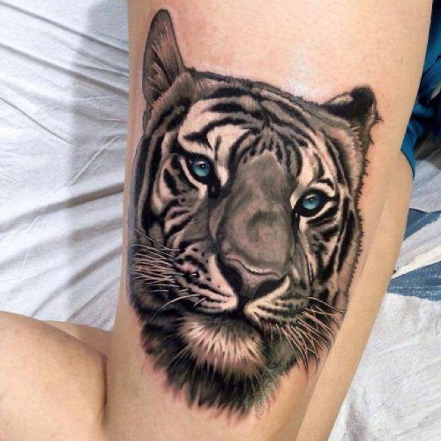 Tiger tattoo 12