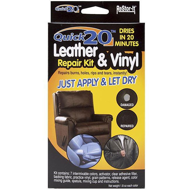 Master Manufacturing As Seen On Tv Re Stor It Quick 20 Leather And Vinyl Repair Kit