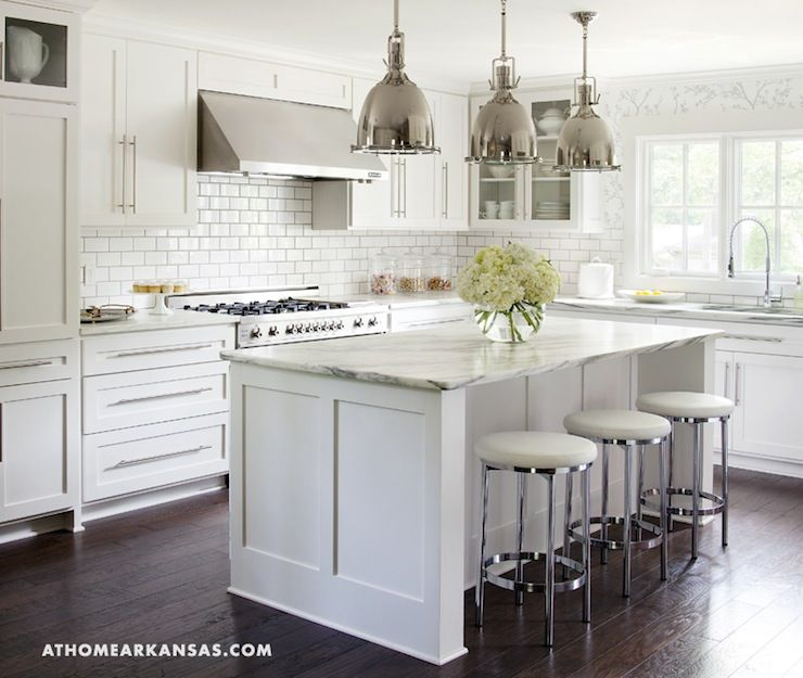 white kitchen islands hooks ikea with seating traditional cozy cabinets and island