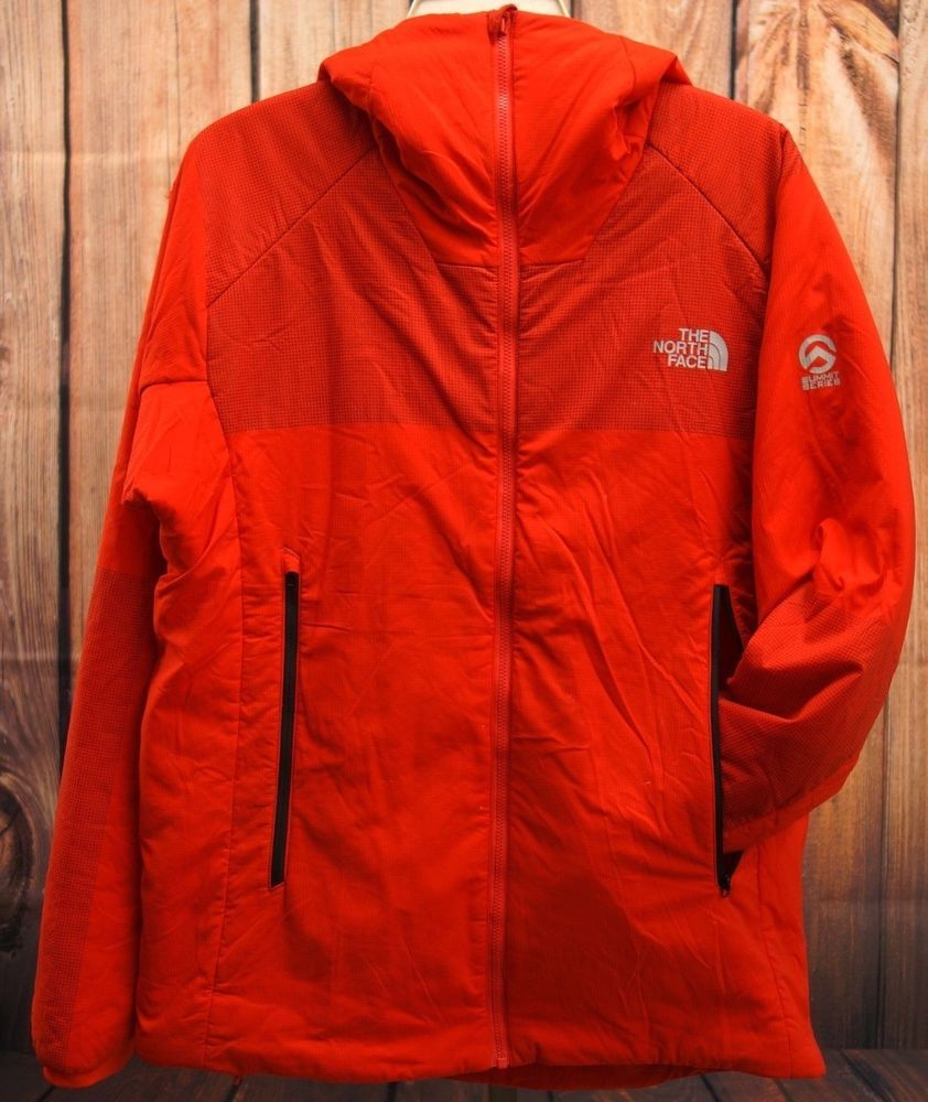 North Face Mens Red Ventrix Summit Series Winter Hooded Coat Jacket Sz M Thenorthface Windbreaker Hooded Winter Coat North Face Mens Coats Jackets [ 1000 x 842 Pixel ]