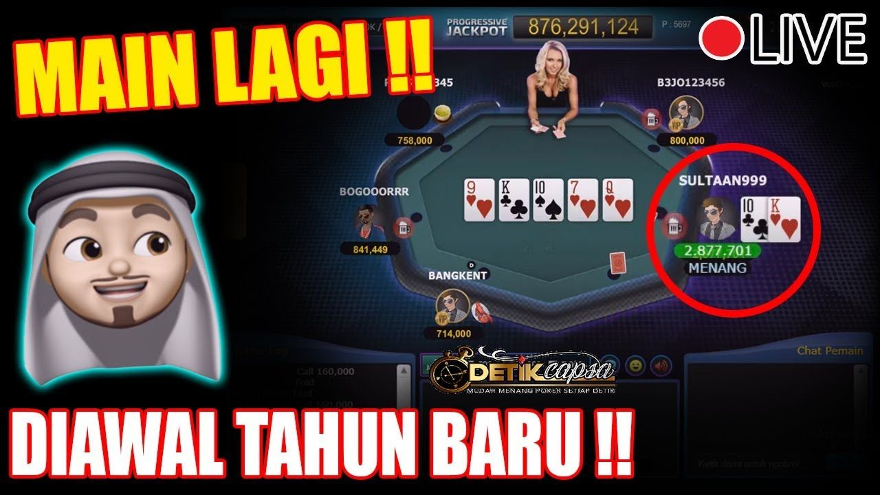 Sultan Main Poker Idn Play Diawal Tahun Baru Bisa Hoki Gak Ya