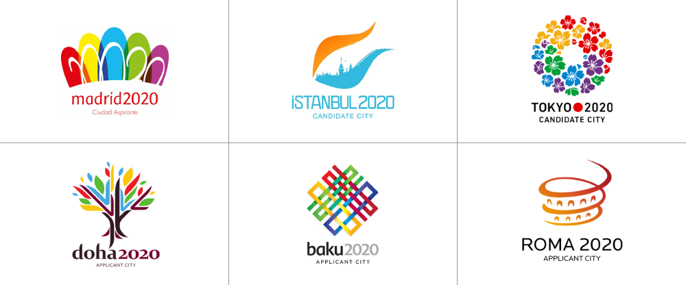 Brand New Logos for the 2020 Summer Olympics Candidate