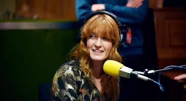 Florence + the Machine at Radio 1 Live Lounge