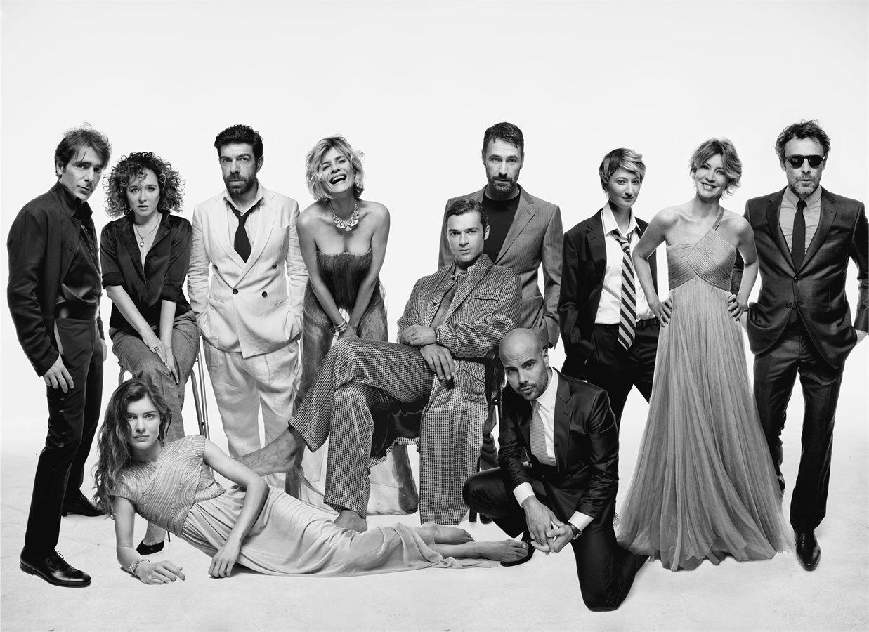 Amore Nero Raoul Bova ciak si sogna: 11 attori per armani   nuove collezioni