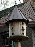 Amish-made bird house