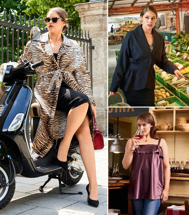 La Dolce Vita: 10 New Plus Size Women\'s Sewing Patterns | Bekleidung ...