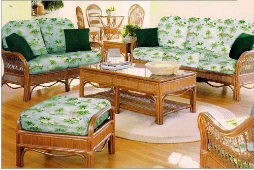 South Sea Rattan U0026 Wicker Furniture 1443 Bermuda End Table