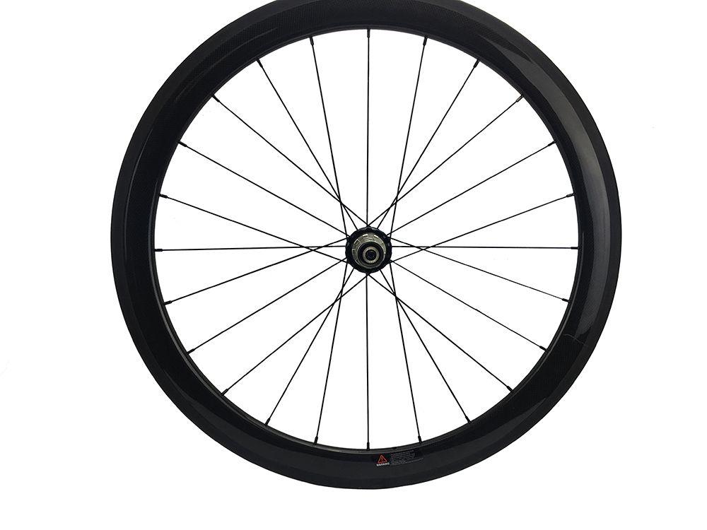 Carbon Bike Wheel 50mm Clincher 700c Road Hub Powerway R36 Straight Pull Front Rear Single Wheel Only 24 38 60 88mm Bike Wheel Wheel Bicycle Parts