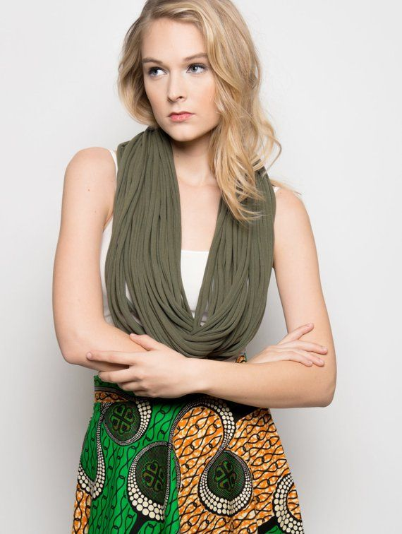 infinity scarf, gifts for mom, scarves for women, statement necklace