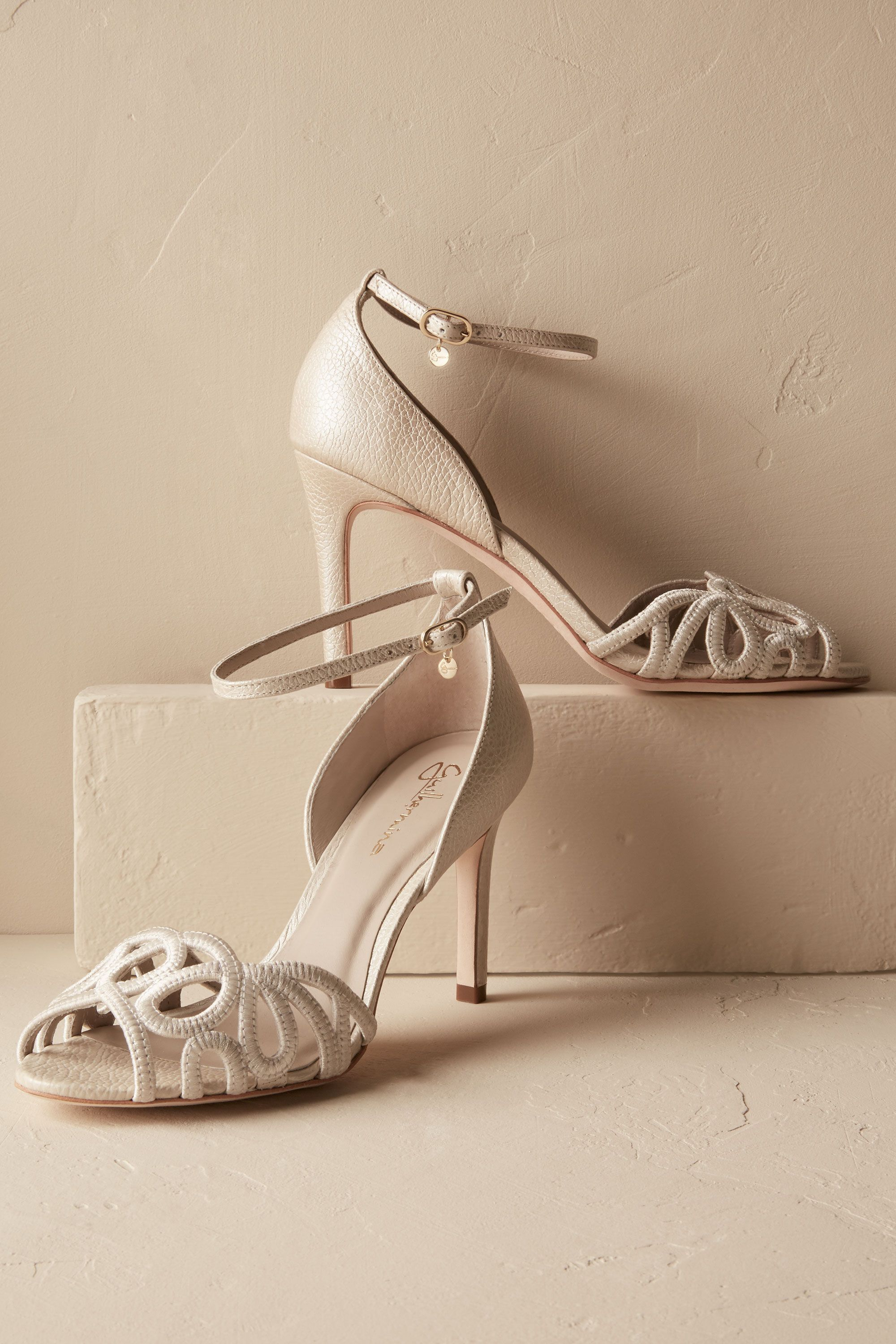 Elin heels from bhldn when in white pinterest wedding shoes
